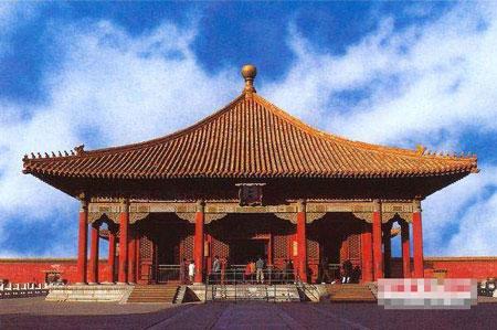北京 中和殿/故宫保和殿(资料图片)