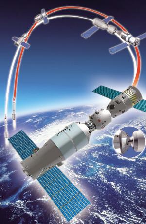 神舟八号飞船,1日5时58分07秒从酒泉卫星发射中心点火升空,开始